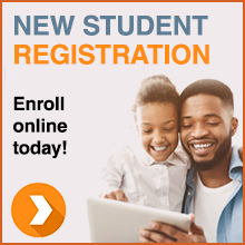 New Student Registration - Enroll online today!