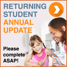 Returning Student Annual Update - Please complete ASAP!