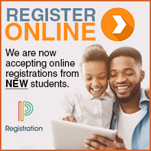 We are now accepting online registration from new students.