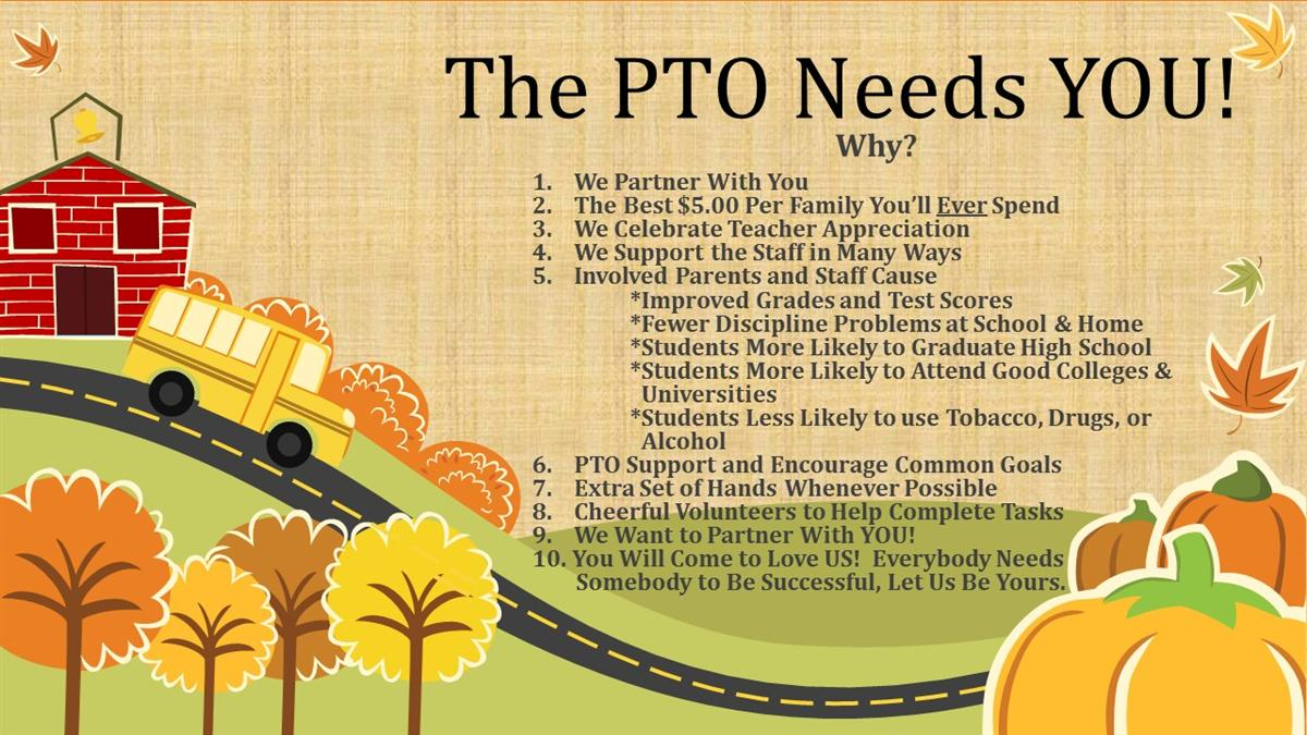 PTO COME JOIN US