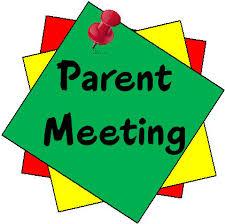 Prek parent meeting