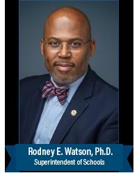 Dr. Rodney E. Watson, Superintendent of Schools