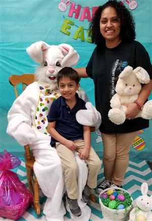 Easter Bunny Visits