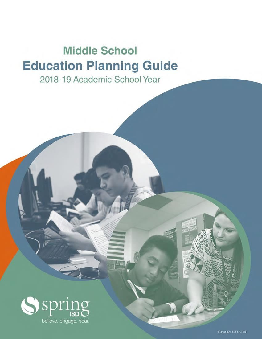 Middle School Education Planning Guide