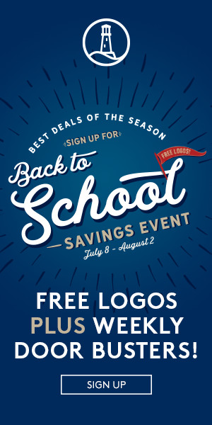 Back to School Savings Event