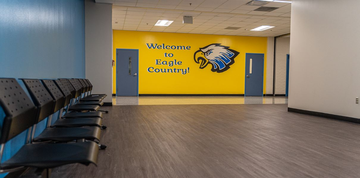Dueitt Middle School has received some renovations and upgrades