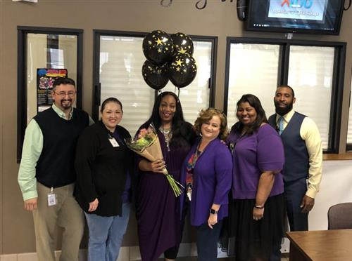 Ms. Tracey Walker, Spring ISD Secondary Principal of the Year