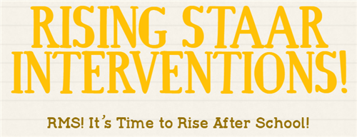 Rising STAAR Interventions