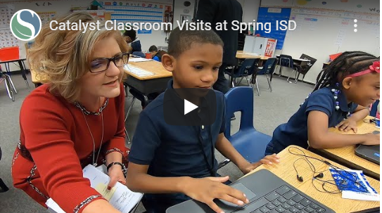 Spring ISD Schools Provide Examples of Empowered Learning Model During Classroom Visits