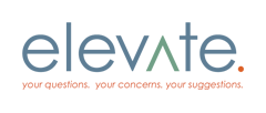 elevate. your questions. your concerns. your suggestions.