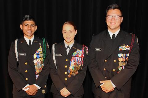 Spring High JROTC Graduates Awarded ROTC Scholarships