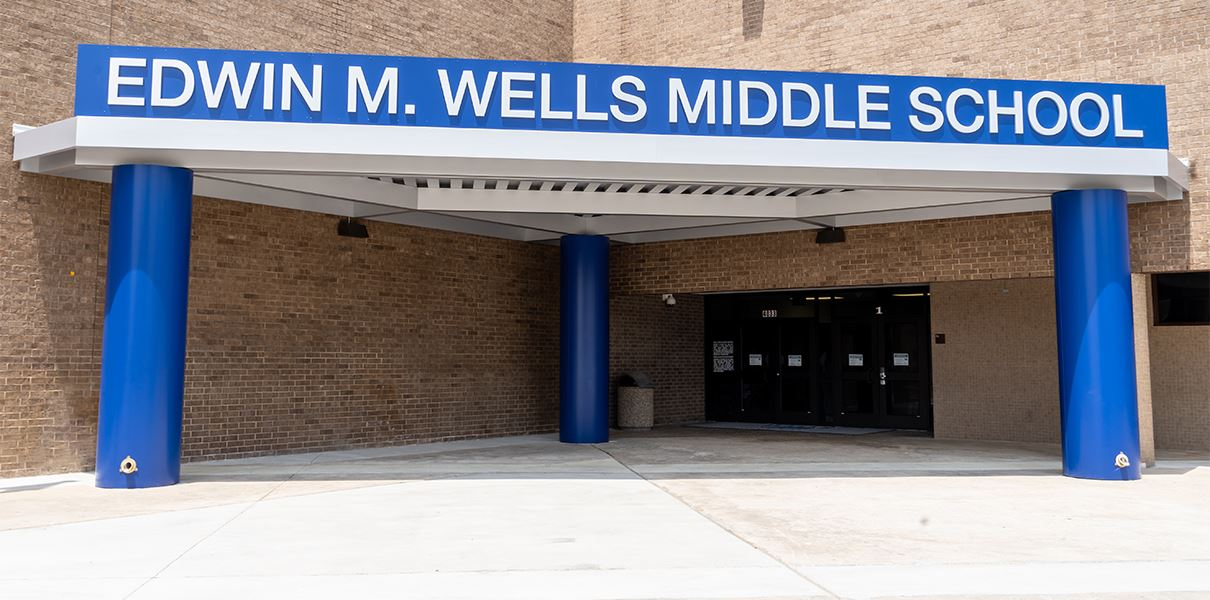 Wells Middle School has received some renovations and upgrades