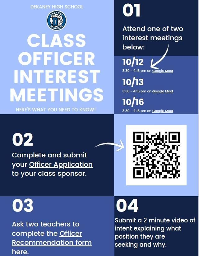 Class Officer Interest Meeting
