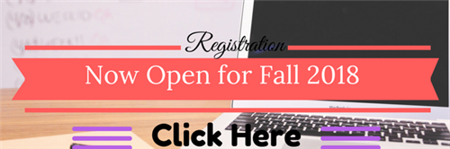 Fall Registration Open