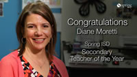 Diane Moretti - Spring ISD Secondary Teacher of the Year