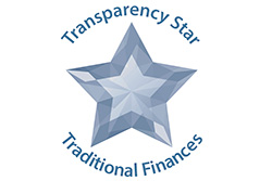 Transparency Star for Traditional Finances from the Texas Comptroller of Public Accounts