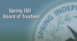Spring ISD Board Adopts 2020-21 Budget