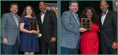 Two Spring ISD Teachers Receive Top Honors at Annual Employee Recognition Banquet