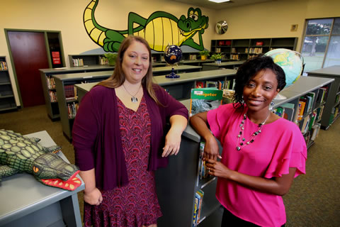 At Anderson Elementary School, Homegrown Leaders Inspire a New Generation of Students