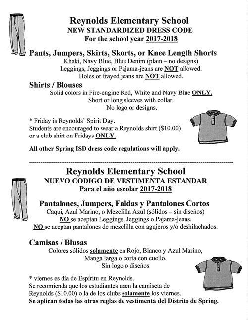 Resources / Dress Code