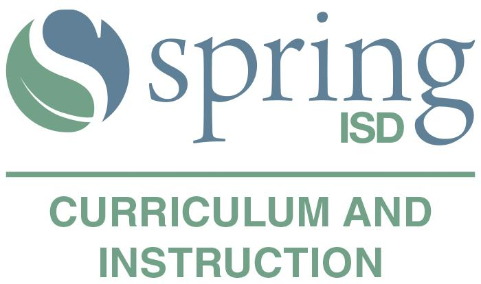 Spring ISD Curriculum and Instruction